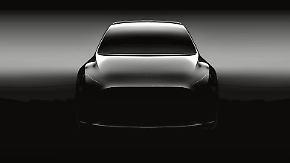 """Erster Blick auf """"Model Y"""": Tesla-Chef Musk heizt Erwartungen an"""