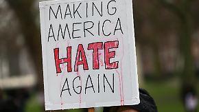 Steigende Zahl von Hassverbrechen: Trumps Tiraden bleiben in den USA nicht ohne Folgen