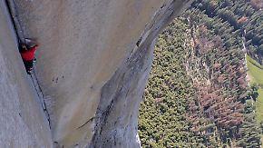 Kaum zu glauben, aber wahr: Freeclimber bezwingt 1000 Meter Felswand ohne Seil