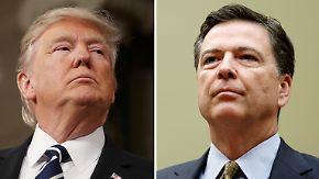 Behinderung der Justiz: Comey-Aussage dürfte für Amtsenthebung Trumps nicht reichen