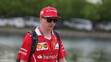 Kimi Räikkönen ärgert die Favoriten.