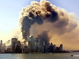 Ein Turm des bei dem Terroranschlag von zwei Passagiermaschinen getroffenen World Trade Center in New York stürzt ein und eine Wolke aus Staub, Rauch und Asche geht in die Luft. (Archivfoto vom 11.09.2001)