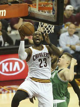 "NBA-Superstar LeBron James findet 3x3-Basketball bei Olympia ""großartig""."