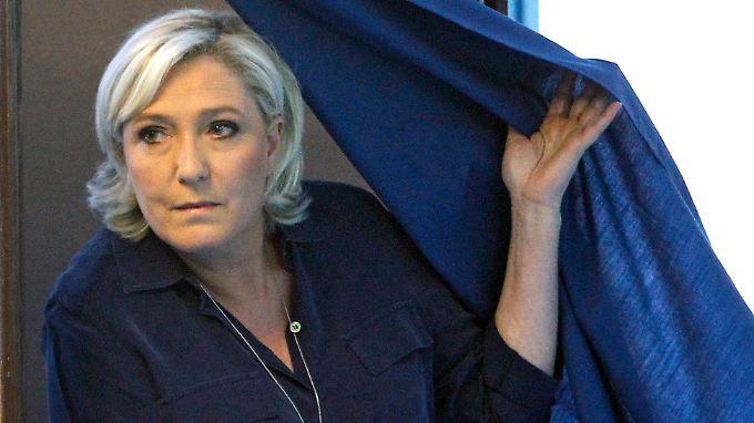 Mit ihrem Kurs spaltet Marine Le Pen den Front National.
