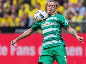 Werder Bremens Aufsichtsrats-Vorsitzender Marco Bode hofft auf den Verbleib von Stürmer Max Kruse.
