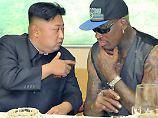 """""""Etwas tun, was echt gut ist"""": Dennis Rodman reist wieder nach Nordkorea"""