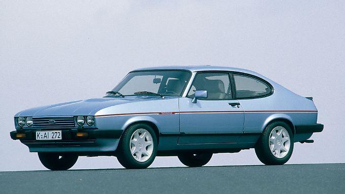1981 wird der Capri Turbo mit 2,8-Liter-Vergaser-Sechszylinder und 188 PS Leistung das neue Spitzenmodell.