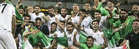 Die Iraner können sich vorzeitig auf die Weltmeisterschaft im kommenden Jahr in Russland freuen.