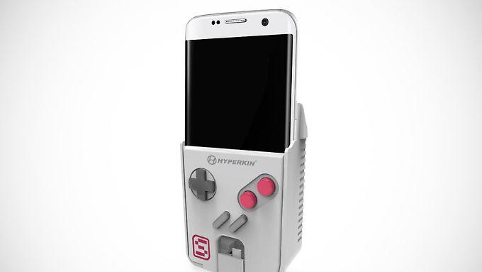 Retro und High Tech: Der Smartboy soll mit modernen Samsung-Handys funktionieren.