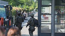"""Polizistin kämpft um ihr Leben: Täter griff """"aus dem Nichts"""" an"""