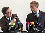 In sieben Runden zur Koalition: Schwarz-Gelb in NRW einig