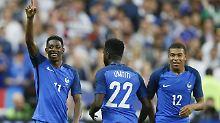 Überragender Dembélé: Frankreich gewinnt dezimiert gegen England