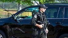 Schüsse beim Baseball-Training: Attentäter feuert auf US-Abgeordnete