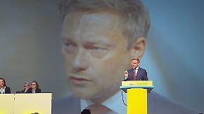 Liberale Kanzlermacher: Lindner führt die FDP aus dem Tunnel