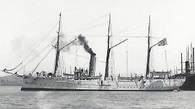 So sah die USCGC McCulloch einst aus.