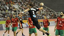 EM-Qualifikation gegen Portugal: Deutsche Handballer sichern Gruppensieg