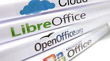 Office-Software auf PC