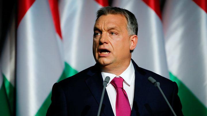 Viktor Orban richtet deutliche Worte an Berlin.