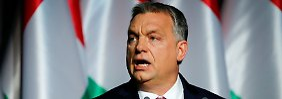 "Streitpunkt Flüchtlingspolitik: Orban: ""Deutsche sollen uns in Ruhe lassen"""