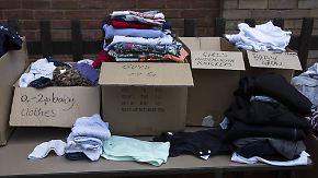 Gegenseitige Hilfe und Anteilnahme: London rückt nach der Brandkatastrophe zusammen