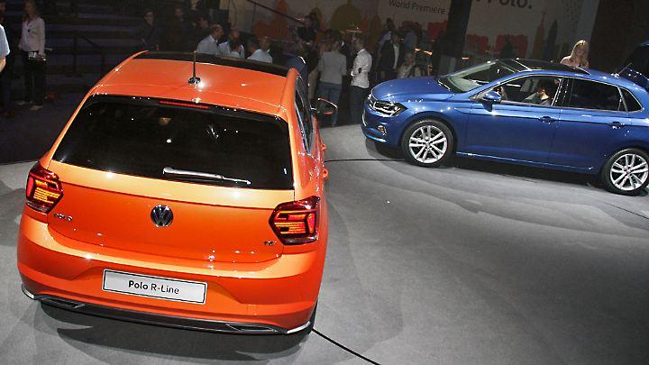 351 statt bisher 280 Liter Kofferraumvolumen bietet der neue Polo.