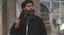 Isis-Anführer Abu Bakr al-Bagdadi.