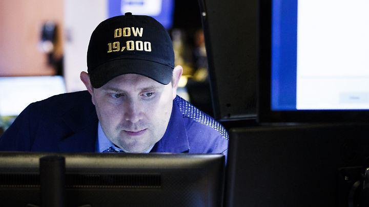 An der Wall Street ist die Stimmung verhalten.