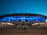 Heftige Kritik an WM-Stadien: Putins Ufo wird zum Symbol der Korruption