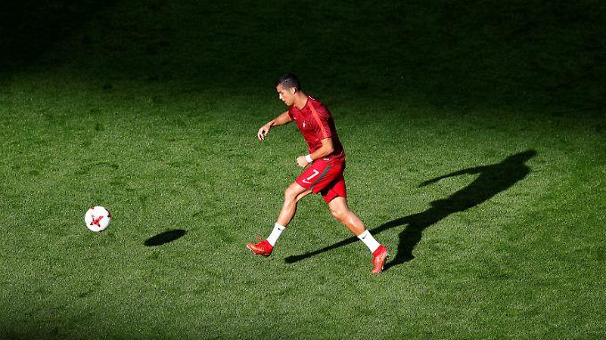 Cristiano Ronaldo redet dieser Tage nicht so gern.