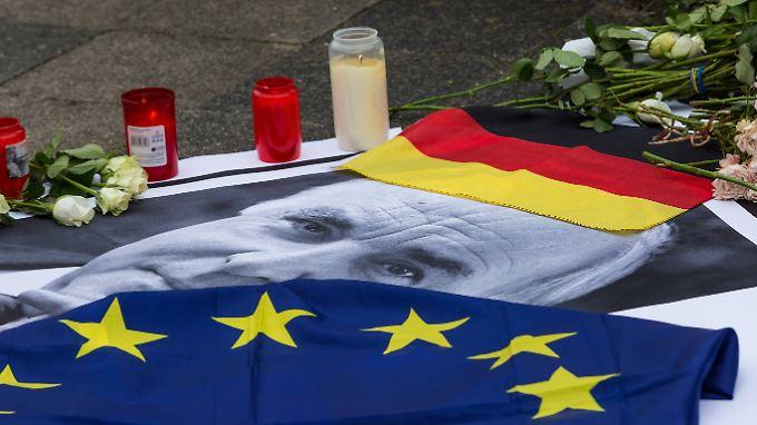 Altkanzler Hemut Kohl wird wohl einen europäischen, aber keinen deutschen Staatsakt erhalten.