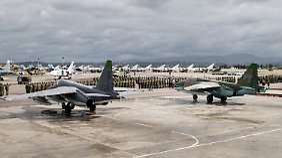Russland unterstützt in Syrien mit seinen Truppen Machthaber Baschar al-Assad.