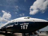 A380 knickt den Flügel: Boeing verlängert die 737