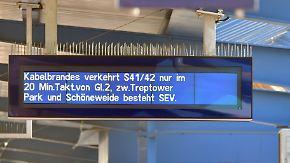 Chaos in mehreren Bundesländern: Brandanschläge legen Bahnverkehr lahm