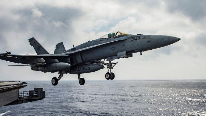 Der Kommunikationskanal der USA und Russlands soll Unfälle im Luftraum über Syrien verhindern.