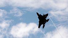 Über syrischem Boden: US-Kampfjet schießt iranische Drohne ab