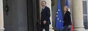 Justiz- und Europaminister gehen: Rücktrittswelle im Macron-Lager geht weiter