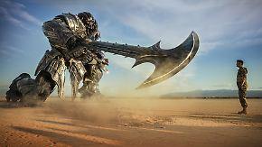 """""""Transformers: The Last Knight"""" im Kino: Mensch und Maschine kämpfen letzte explosive Schlacht"""