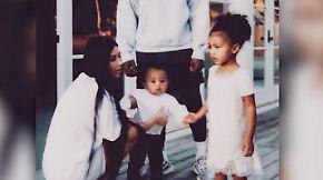 Promi-News des Tages: Kim Kardashian hält ihre Kinder von Social Media fern