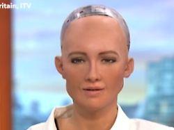Sie sind ein Freak, nicht wahr?: Roboter Sophia zu Gast in der Morning-Show
