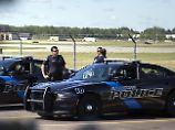 Der Flughafen wurde vorsorglich evakuiert, allerdings ging die Polizei von einer Einzeltat aus.