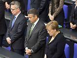 Kohls Witwe stößt auf Unverständnis: Bundestag gedenkt Helmut Kohl