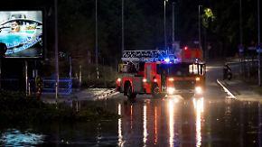 Orkanböen, Gewitter, Starkregen: Schwere Unwetterfront tobt in der Nacht über Deutschland