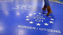 Bleiberecht für EU-Bürger: EU weist Mays Vorschläge zurück