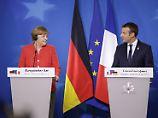 """""""Falls Deutschland und Frankreich nicht einig sind, kommt Europa nicht voran"""