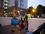 Trotz akuter Feuergefahr: Londoner verweigern Hochhausräumung