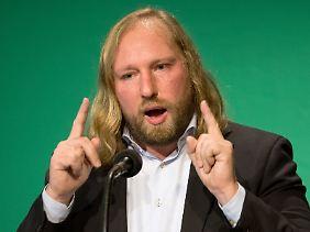 Anton Hofreiter ist Fraktionschef der Grünen. Zuvor machte sich der studierte Biologe als Vorsitzender des Verkehrsausschusses des Bundestages einen Namen.