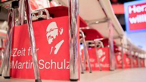 Umfragetief vor Parteitag: Schulz möchte der SPD wieder Mut machen