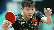 Deutsches Traumfinale Nebensache: Meuterei im Tischtennis erschüttert China