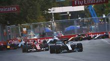Formel-1-Spektakel in Baku: Ricciardo gewinnt Chaos-GP, Vettel vor Hamilton