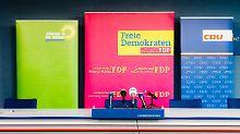 Regierung für Kiel steht: Nord-Grüne segnen Jamaika-Koalition ab